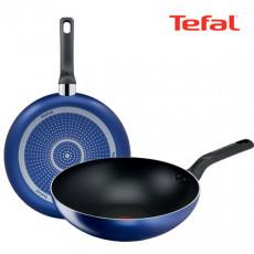 테팔 티타늄 미드나잇 블루 후라이팬 28cm + 멀티팬 28cm