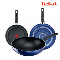 테팔 티타늄 미드나잇 블루 후라이팬 20cm + 26cm + 멀티팬28cm