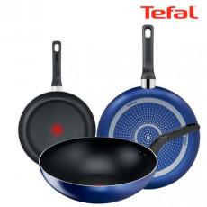테팔 티타늄 미드나잇 블루 후라이팬 20cm + 28cm + 멀티팬 28cm