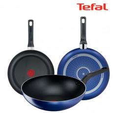 테팔 티타늄 미드나잇 블루 후라이팬 24cm + 26cm + 멀티팬28cm