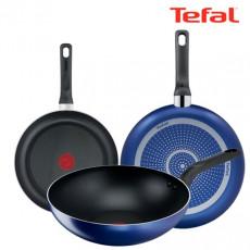 테팔 티타늄 미드나잇 블루 후라이팬 24cm + 28cm + 멀티팬28cm