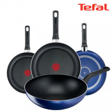 테팔 티타늄 미드나잇 블루 후라이팬 20cm + 24cm + 26cm + 28cm + 멀티팬28cm