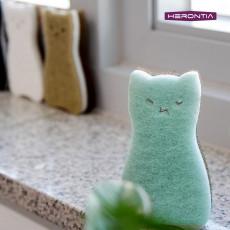 [헤론티아] 고양이 스펀지 2P / 4P (HT8T3H002)