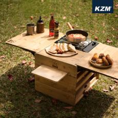 카즈미 네이처 우드 박스 테이블 (K8T3U018)