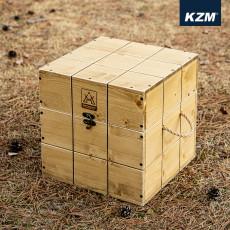 카즈미 네이처 우드 큐브박스 (K20T3U013)